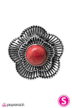 Load image into Gallery viewer, Paparazzi ♥ Mojave Poppy - Red ♥ Ring