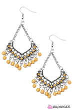 Load image into Gallery viewer, Paparazzi ♥ On A Magic Carpet Ride - Yellow ♥ Earrings