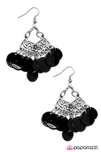 Paparazzi ♥ For SHORE - Black ♥ Earrings