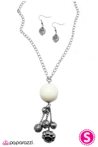 Paparazzi ♥ Globetrotter - White ♥ Necklace