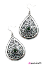 Load image into Gallery viewer, Paparazzi ♥ What Are You Waiting For? - Green ♥  Earrings