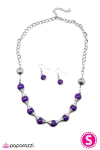 Paparazzi ♥ Spring To Mind - Purple ♥ Necklace