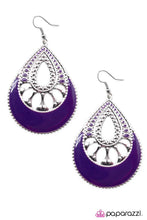 Load image into Gallery viewer, Paparazzi ♥ Last Call - Purple ♥ Earrings