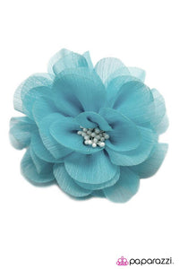 Paparazzi ♥ Moment of Truth - Blue ♥ Hair Clip
