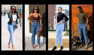 Shape denim jeans Classy, sassy and snatched