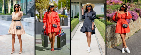 What is poplin dress. Style classic yet casual poplin outfits.