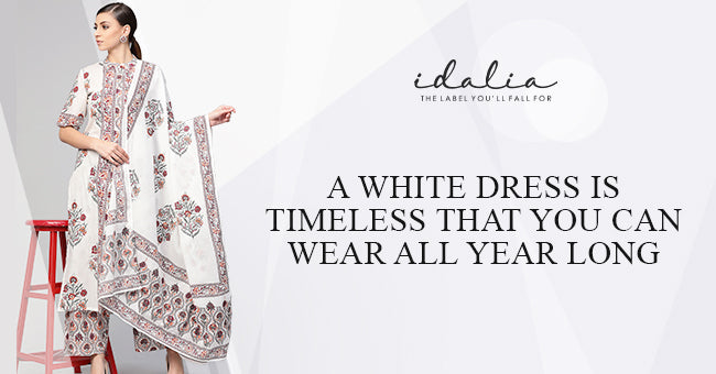 A White Dress Is Timeless That You Can Wear All Year Long