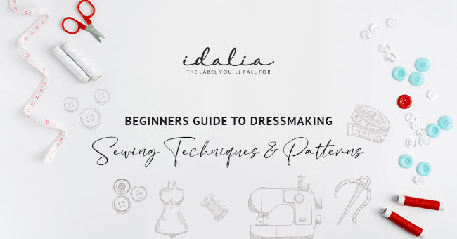 Beginners Guide To Dressmaking Sewing Techniques & Patterns