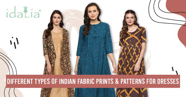 Different Types of Indian Fabric Prints & Patterns for Dresses