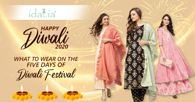 Diwali 2020: What to Wear on the Five Days of Diwali Festival