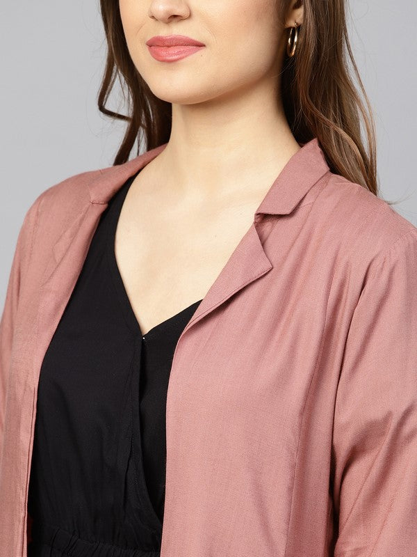Idalia Premium Rose Gold Solid Shrug
