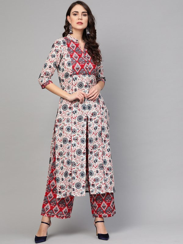 Idalia Multicolour Printed Kurta Set