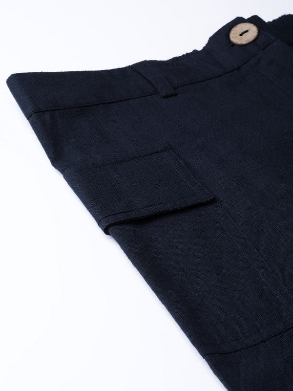 Idalia Navy Blue Pants