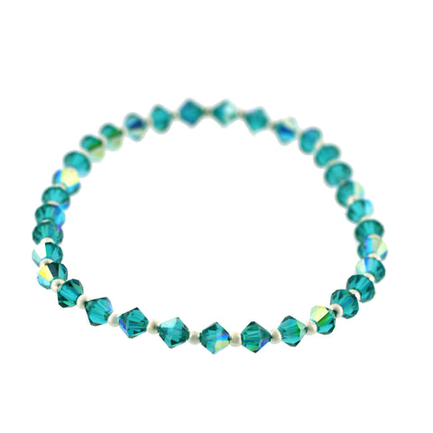 Amy Blue Zircon Bracelet