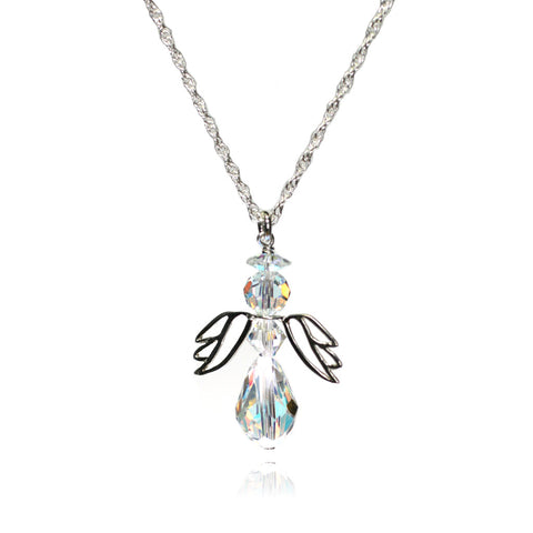 Angel April Necklace
