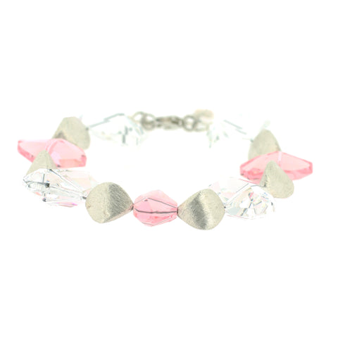 Brigitta Light Rose Bracelet