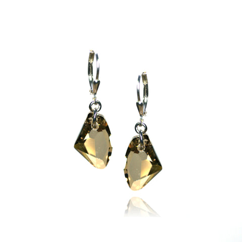 Brigitta Golden Shadow Earrings