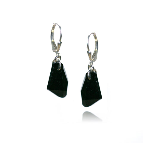 Brigitta Jet Earrings