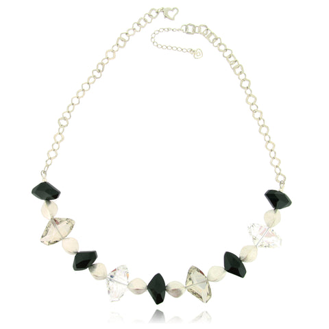 Brigitta Black Necklace