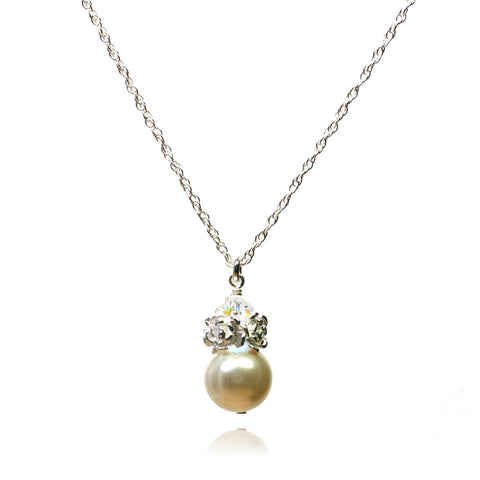 Caeli Cream Pearl Necklace