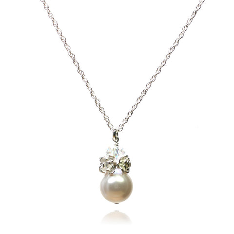 Caeli White Pearl Necklace