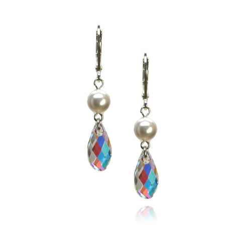 Cathy Crystal Earrings