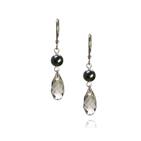 Cathy Silver Shade Earrings