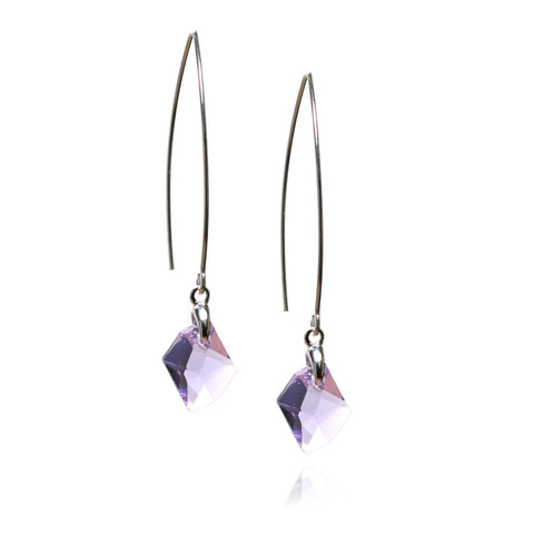 Connie Violet Earrings