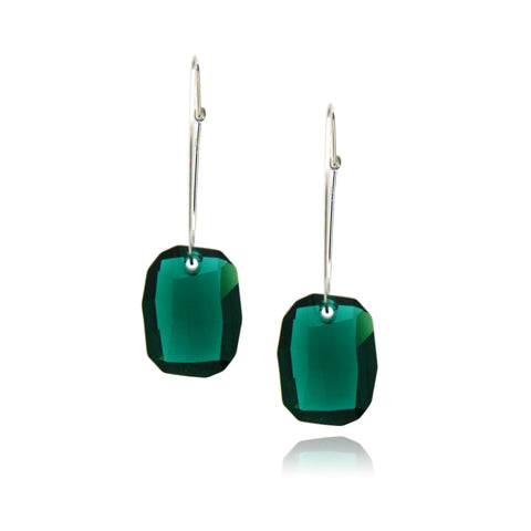 Hailey Emerald Earring