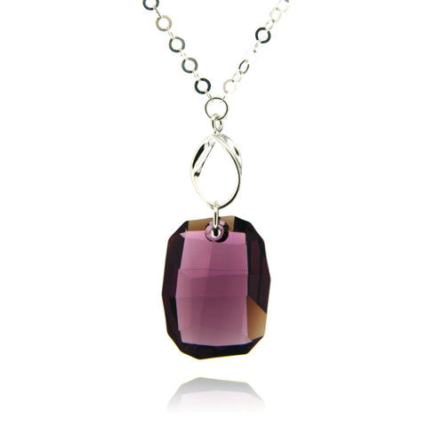 Hailey Amethyst Necklace