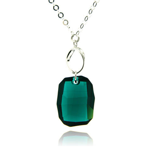 Hailey Emerald Necklace