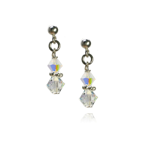 Julie Crystal AB Earrings