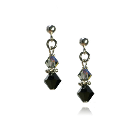 Julie Jet Earrings