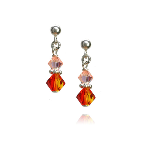 Julie Fire Opal Earrings