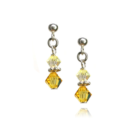 Julie Light Topaz Earrings