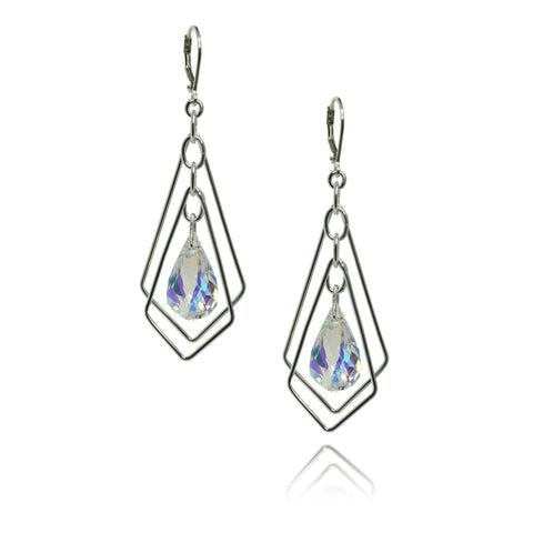 Katie Crystal Earrings