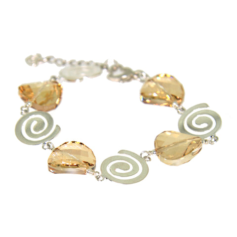 Rhonda Golden Shadow Bracelet