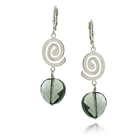 Rhonda Black Diamond Earrings