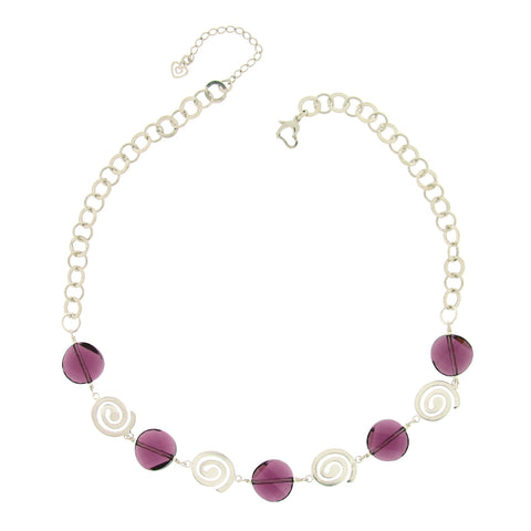Rhonda Amethyst Necklace