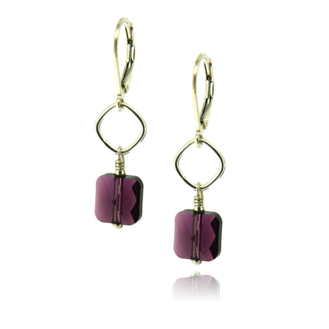 Winnie Amethyst Earrings