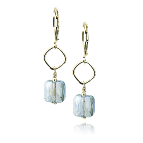 Winnie Blue Shade Earrings