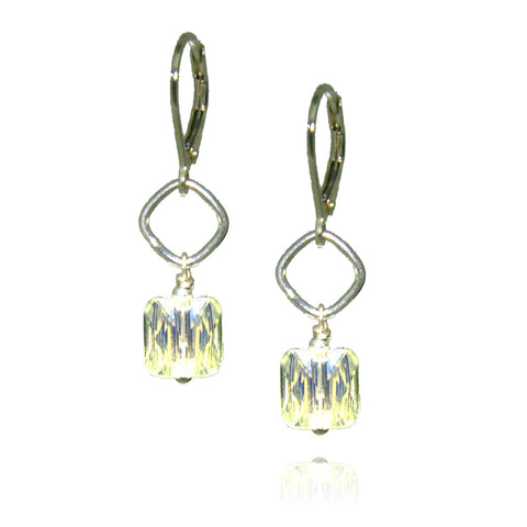 Winnie Crystal AB Earrings