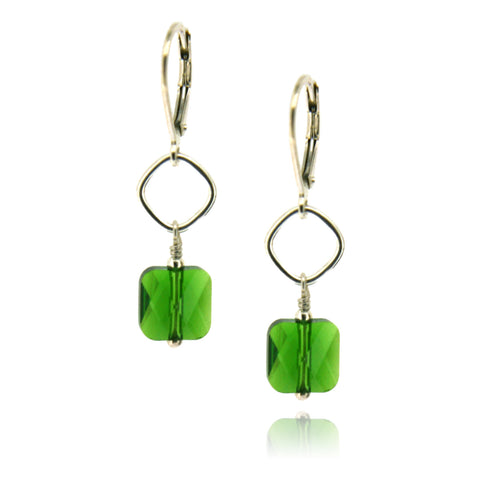 Winnie Fern Green Earrings