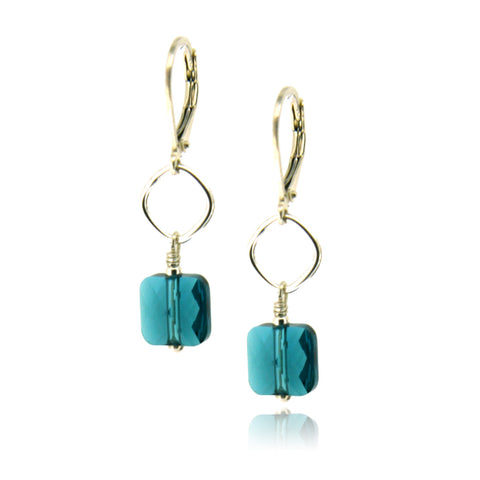 Winnie Indicolite Earrings