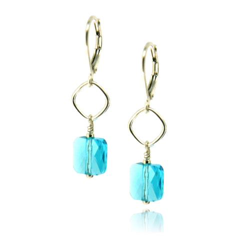 Winnie Light Turquoise Earrings