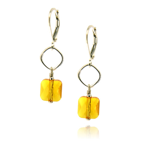 Winnie Sunflower Earrings