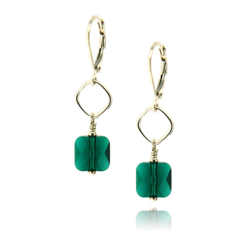 Winnie Emerald Earrings