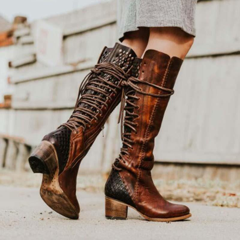 Women straps  Thigh-high boots