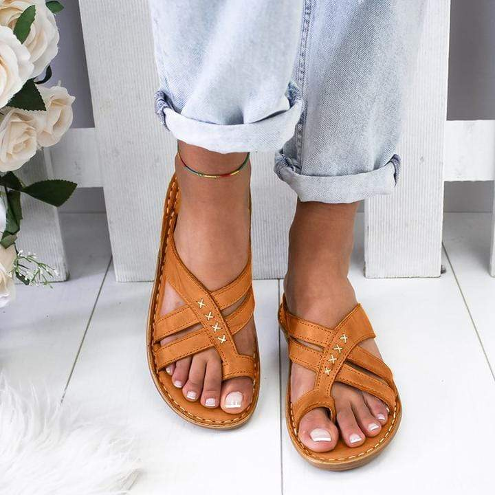Casual Comfy Toe Ring Sandals