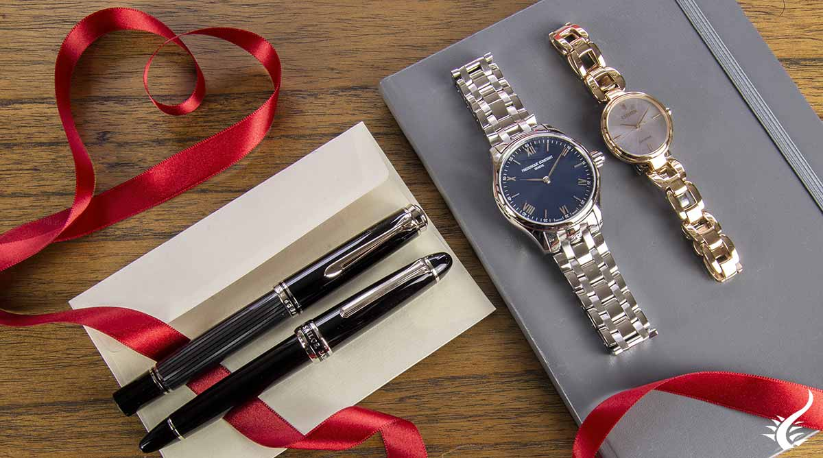 Fountain-pen- watch-gift